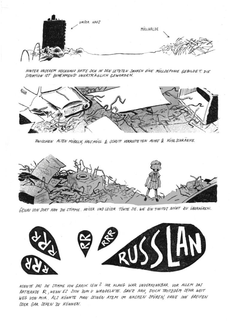 RUSSLAN Lost